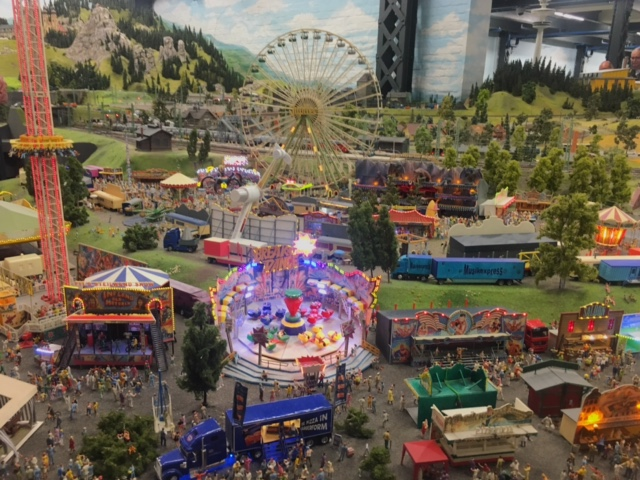 Funfair at Miniatur Wunderland (Things to do in Hamburg)