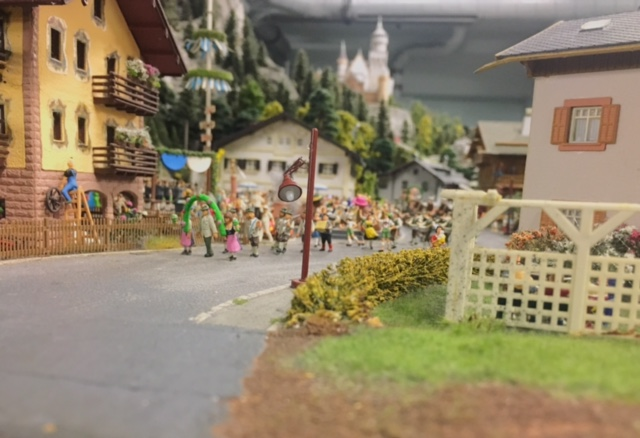 Minatur Wunderland village (best things to do in Hamburg)