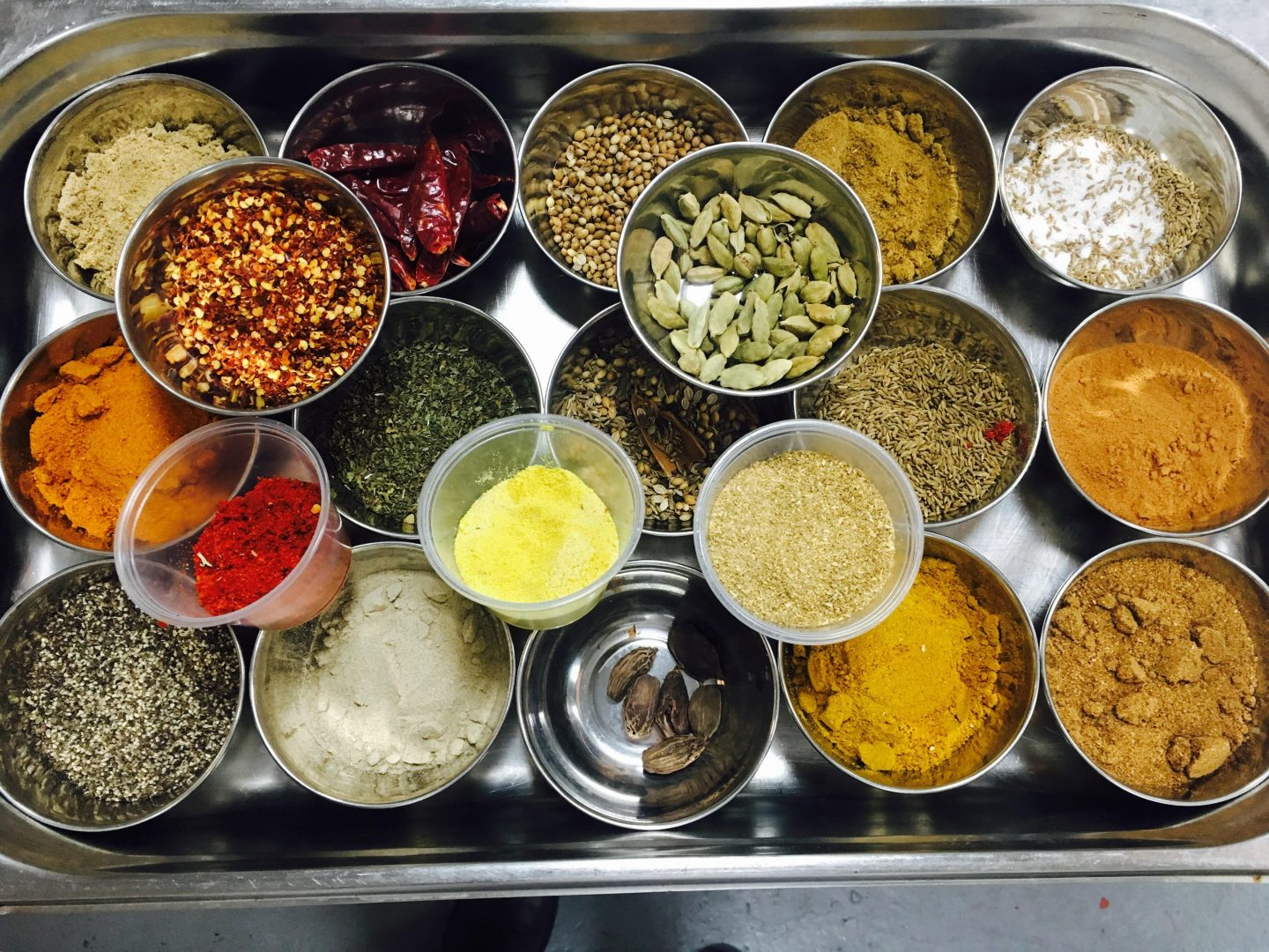 Moksh Cookery Class - spice selection