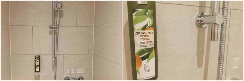 Hamburg hotels - Heikotel Hotel Am Stadtpark: Shower and shower gel
