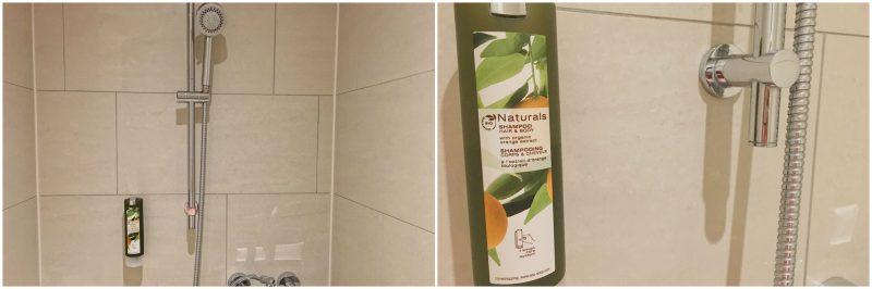 Hamburg hotels - Heikotel Hotel Am Stadtpark: Shower and shower gel