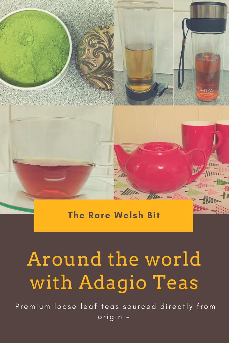Around the world with Adagio Teas