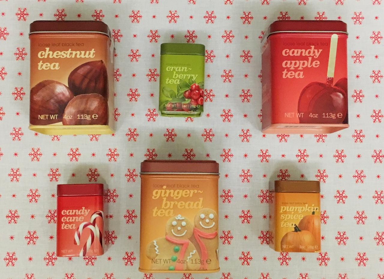 Adagio Teas' range of festive loose leaf teas