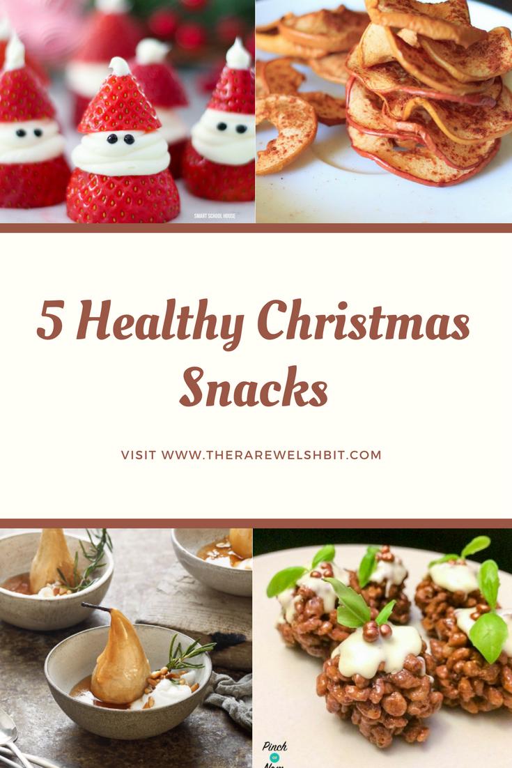 5 Healthy Christmas Snacks