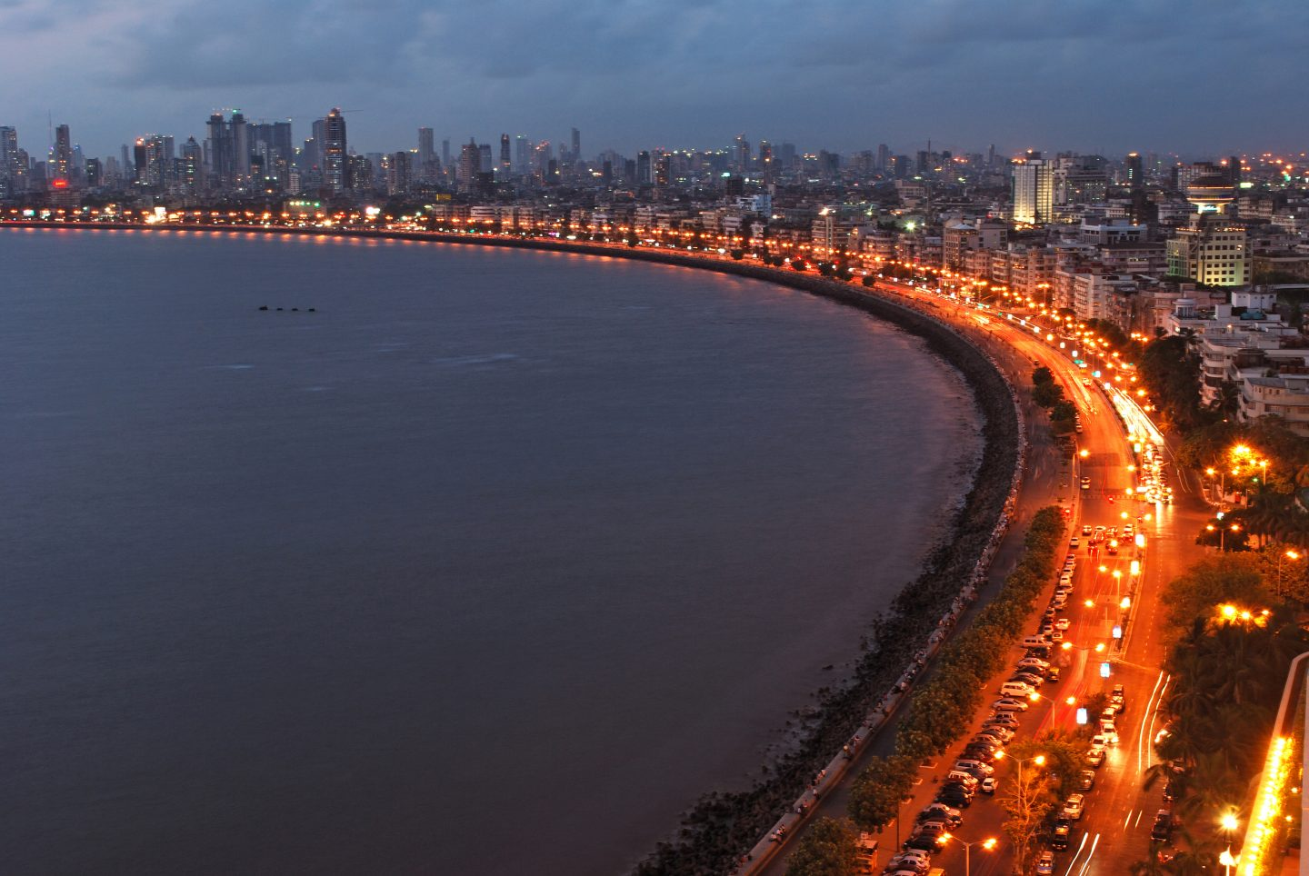 Marine Drive - one of the best things to do in Mumbai