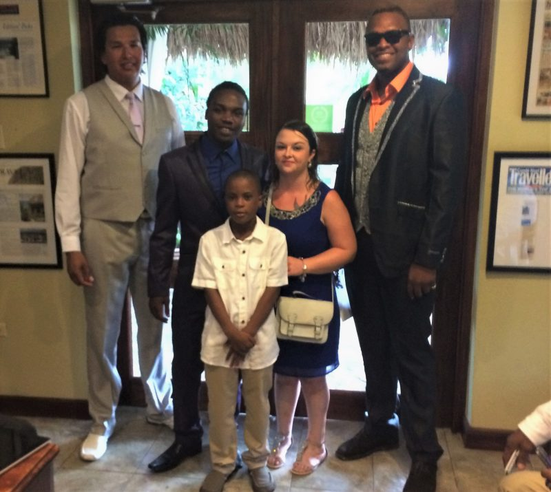 Guests at a Jamaican wedding (what to wear for a wedding in a different culture)