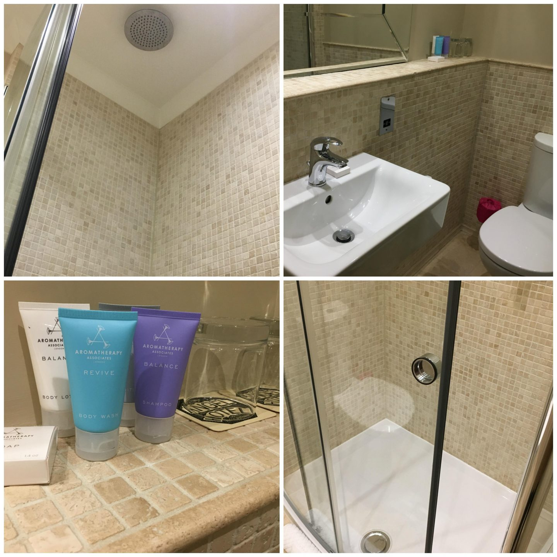 Bathroom at The Angel Hotel