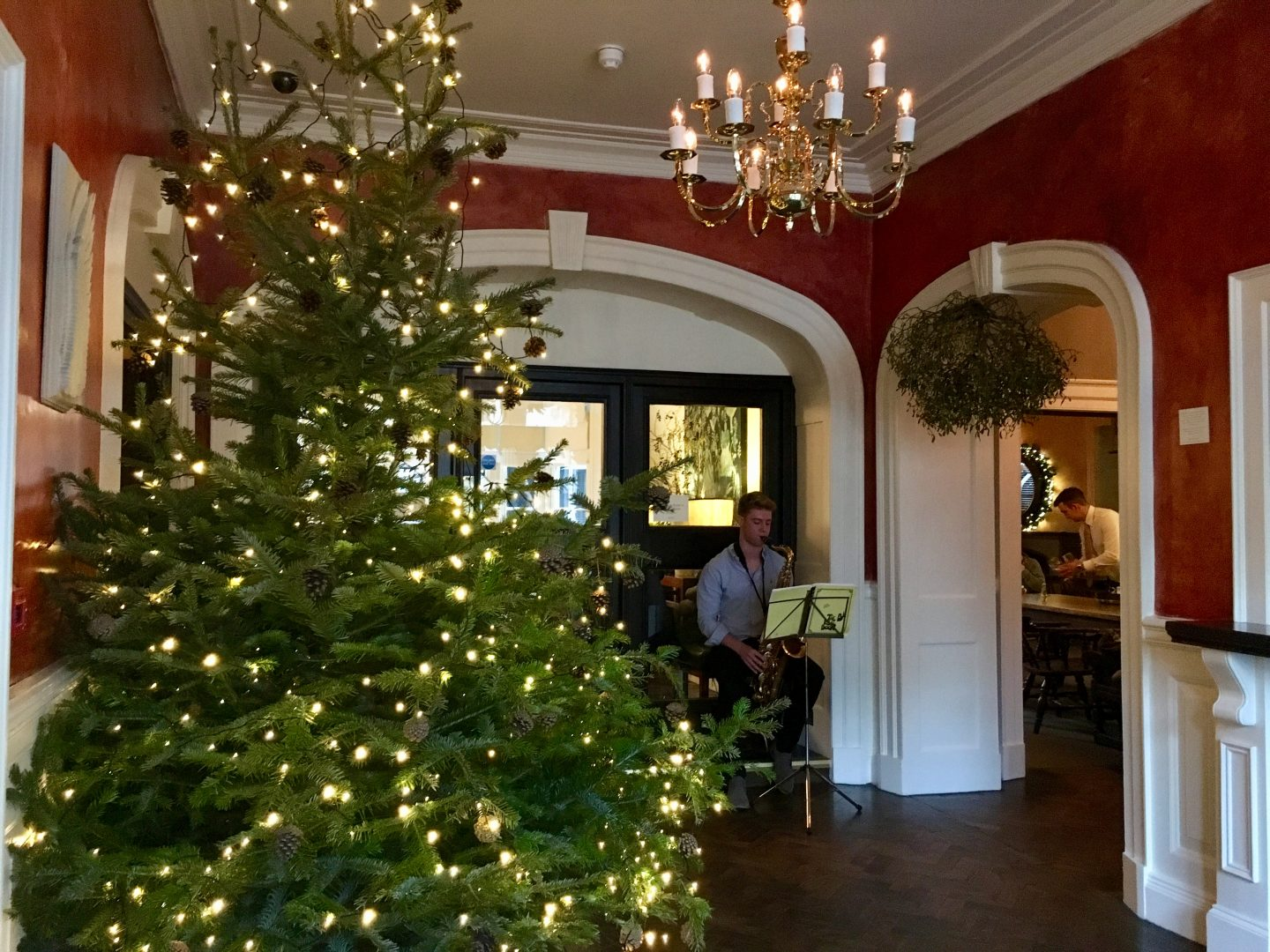 A festive stay with afternoon tea at The Angel Hotel, Abergavenny