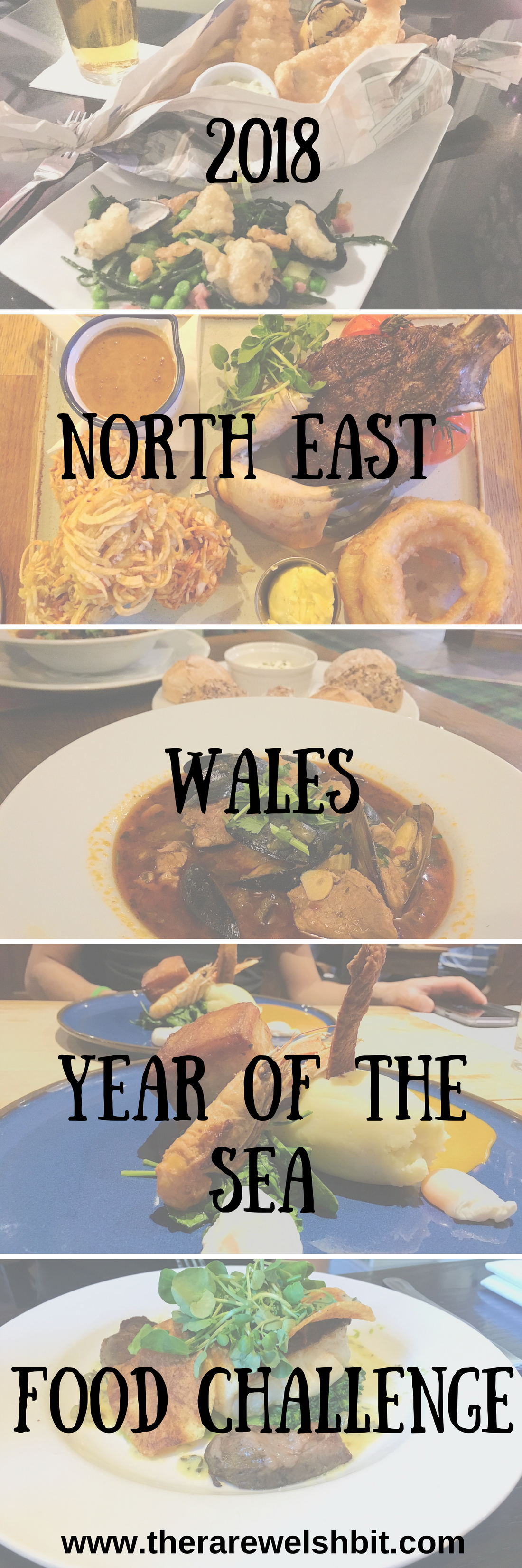 2018 North East Wales Year of the Sea Food Challenge
