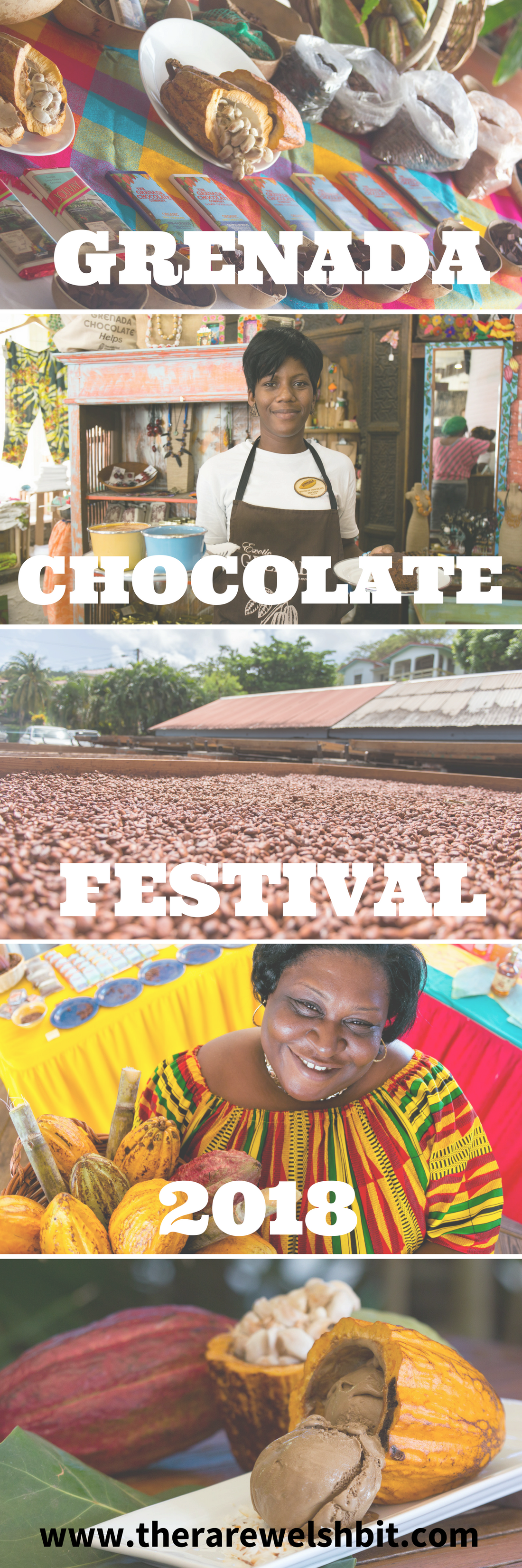 Grenada Chocolate Festival is paradise for any chocoholic or chocolate lover, featuring chocolate tasting, chocolate making, chocolate beer, cocoa farming and much more.