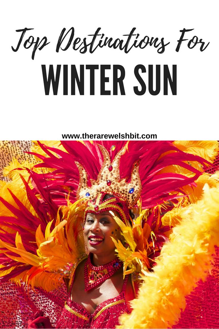 Top Destinations For Winter Sun