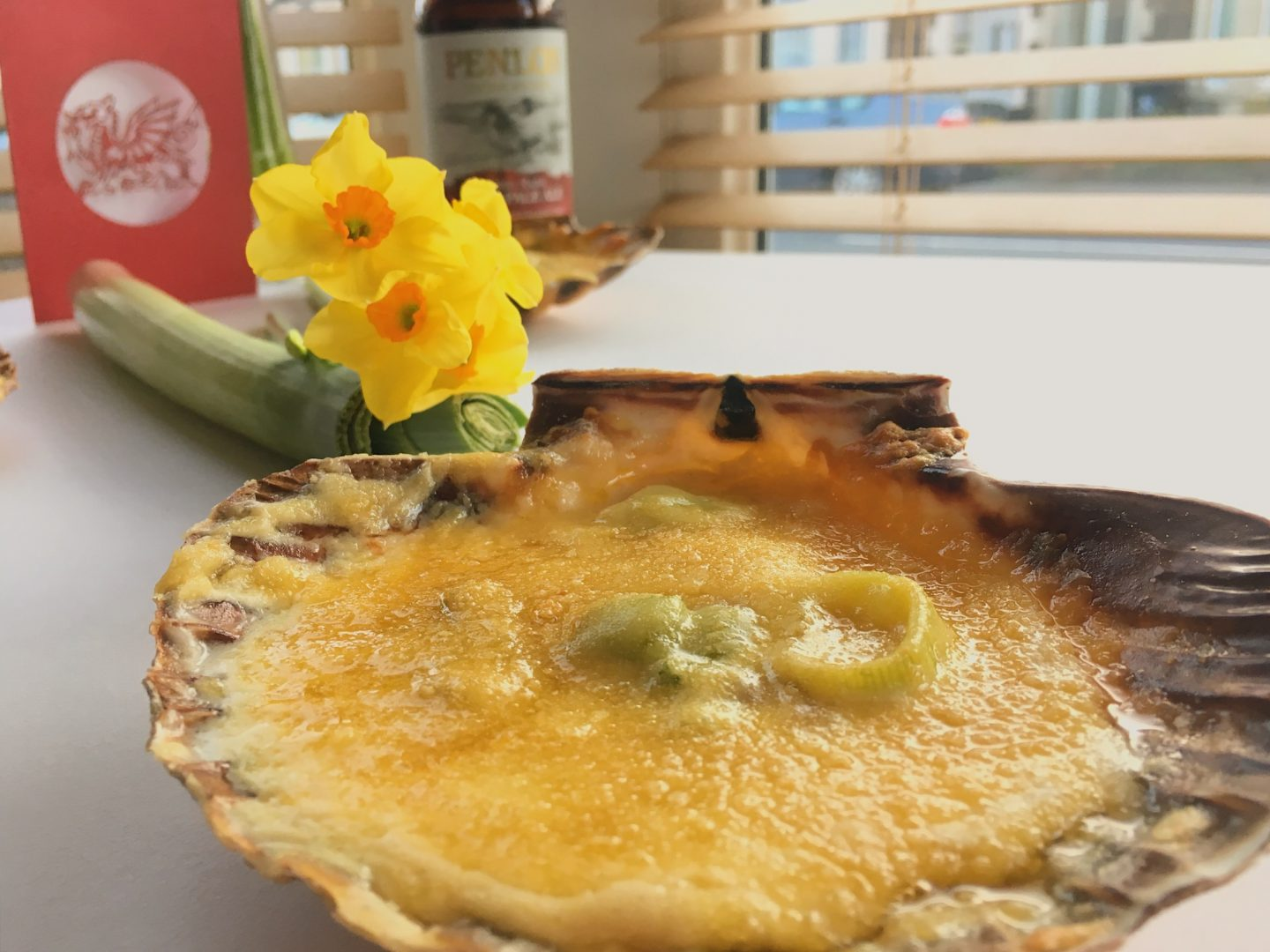 St. David's Day Recipe: Coquilles St. David