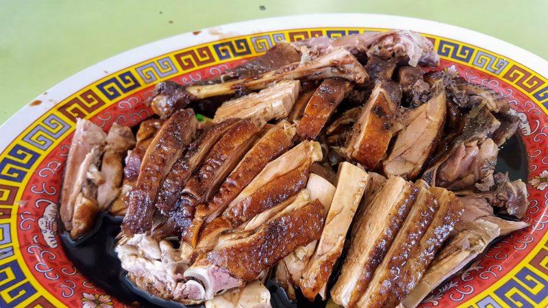 Braised duck rice - one of the tastiest Singaporean foods