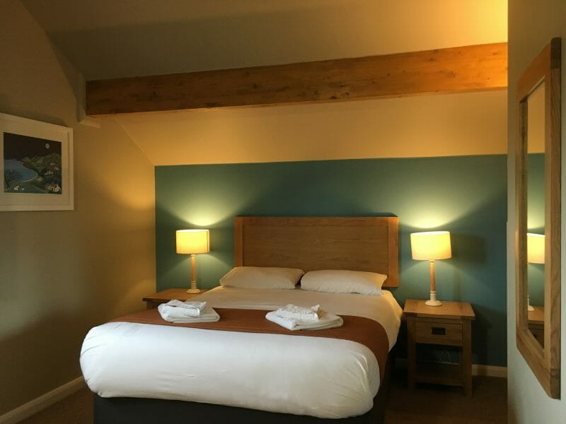 Master bedroom at Bluestone Wale
