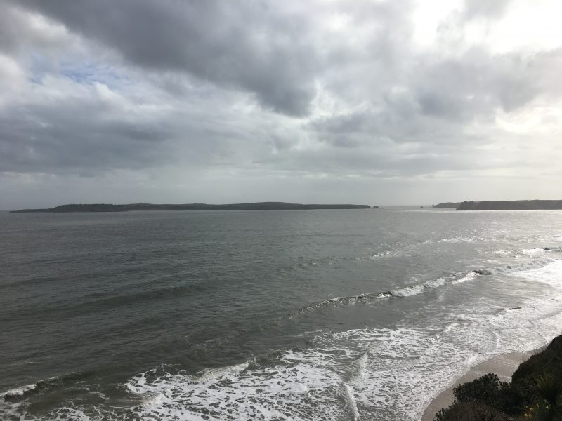 View from Tenby South Beach