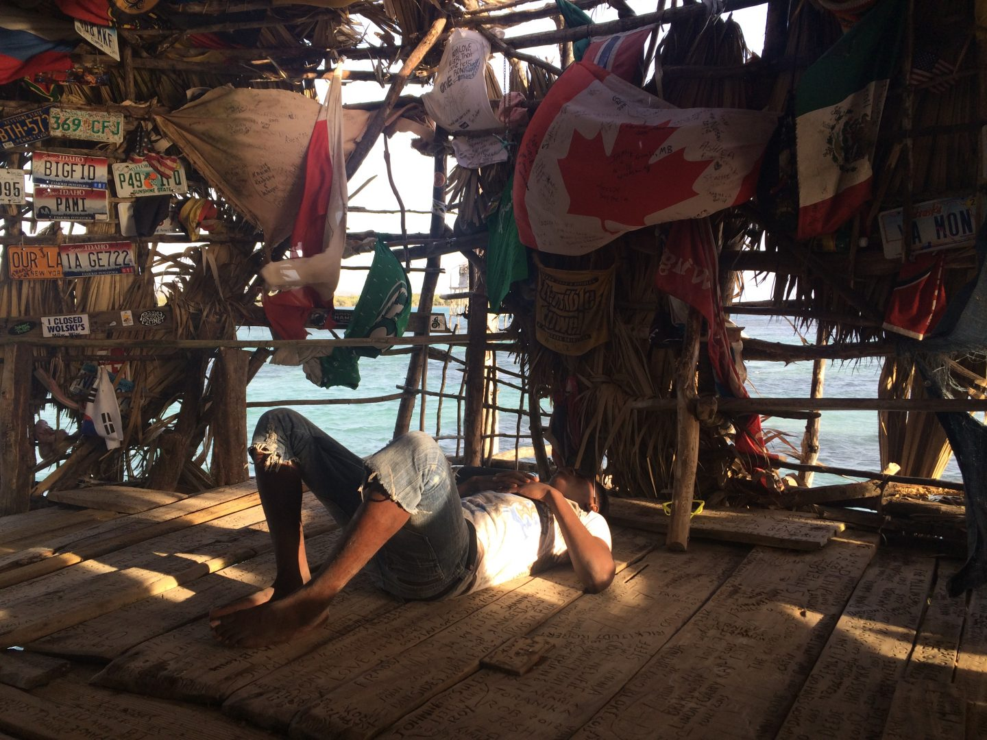 Floyds Pelican Bar, one of the best places to visit in Jamaica