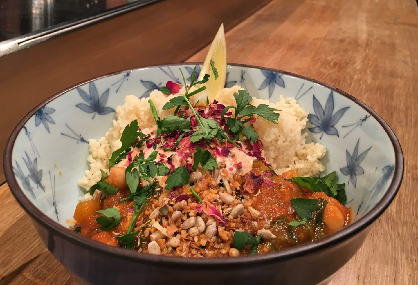 Butternut squash and chickpea stew at BelFeast Food and Drink Festival