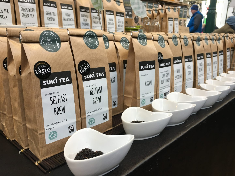 Suki Tea at St. George's Market, Belfast