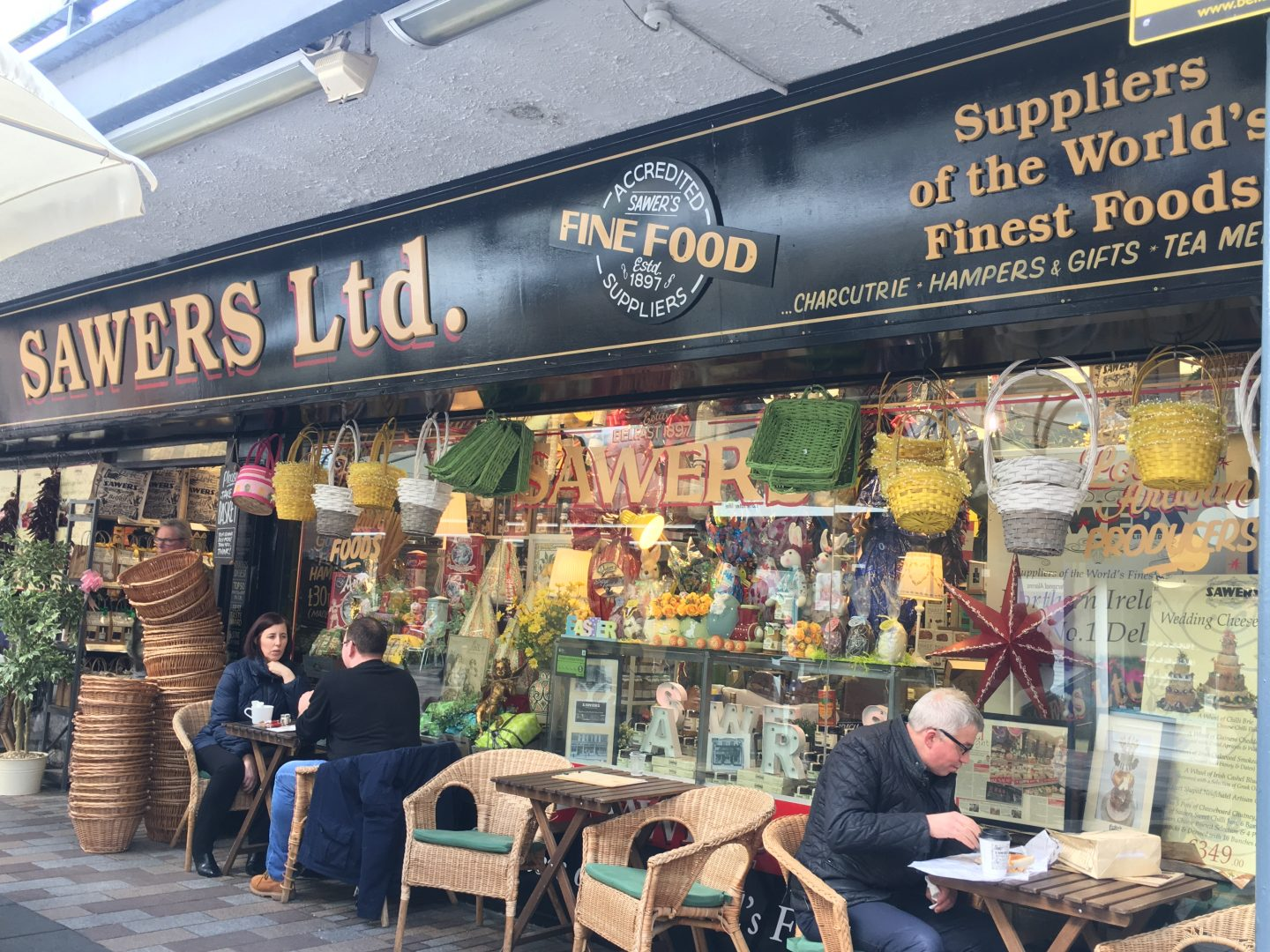 Sawers - one of the best places to eat in Belfast