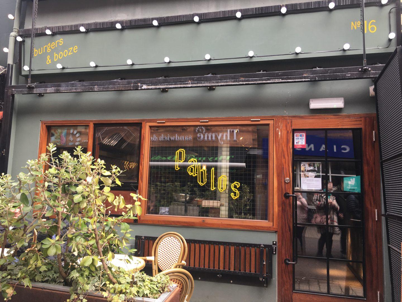 Pablo's burger bar, Belfast