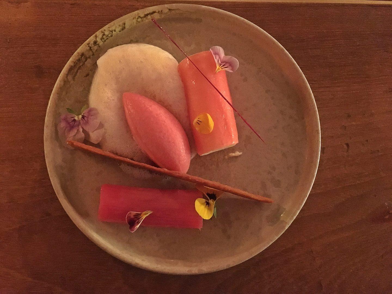 Rhubarb four ways