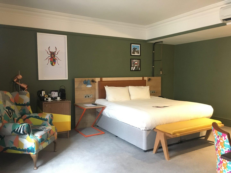 Bedroom at Mercure Grand Bristol Spa Hotel