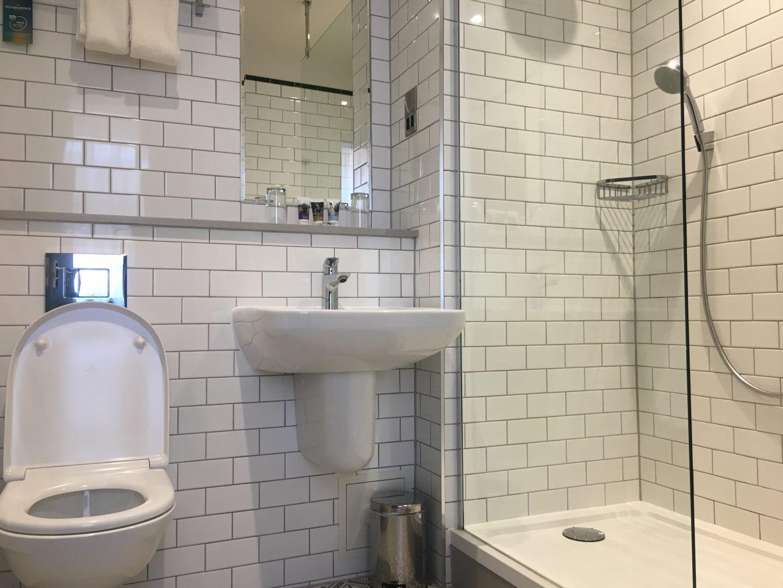Bathroom at Mercure Grand Bristol Spa Hotel