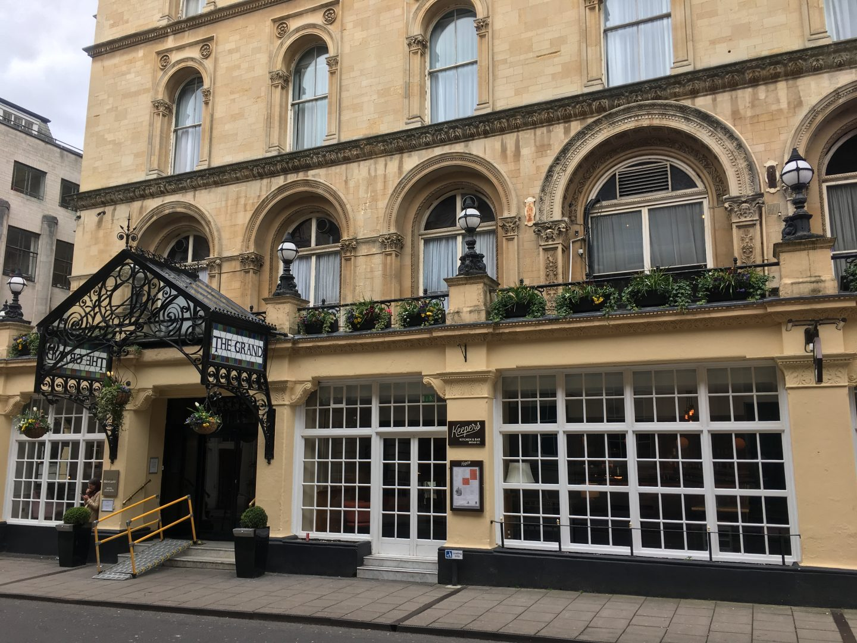 Mercure Grand Bristol Spa Hotel exterior