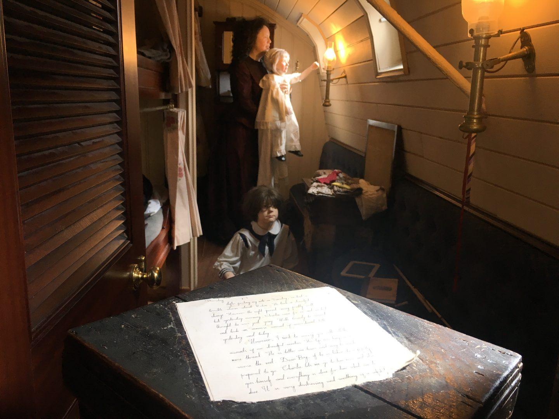 A cabin aboard SS Great Britain Bristol