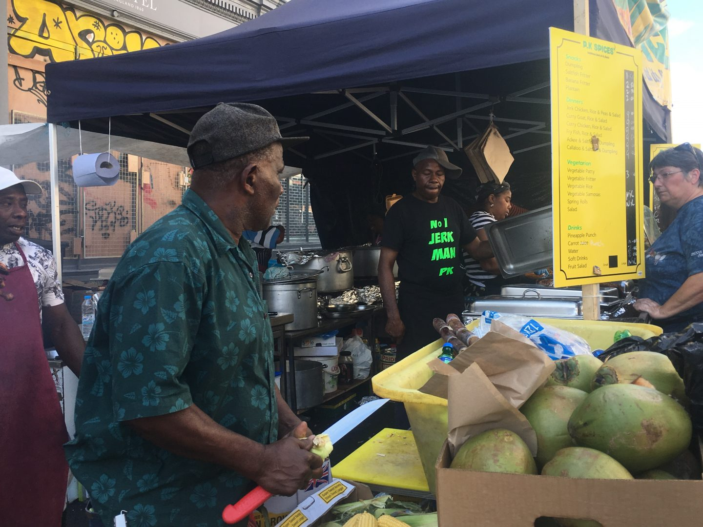 Street eats at Notting Hill Carnival, London