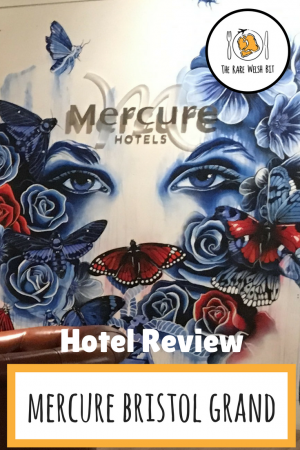 Wondering where to stay in Bristol? Mercure Bristol Grand Hotel is a contemporary 4-star hotel featuring street art created by artists local to Bristol. Read my review, including ideas of things to do in Bristol during your stay, like visiting Bristol Zoo and SS Great Britain. #Bristol #MercureHotels #SpaHotels #BristolFood #BeingBrunel