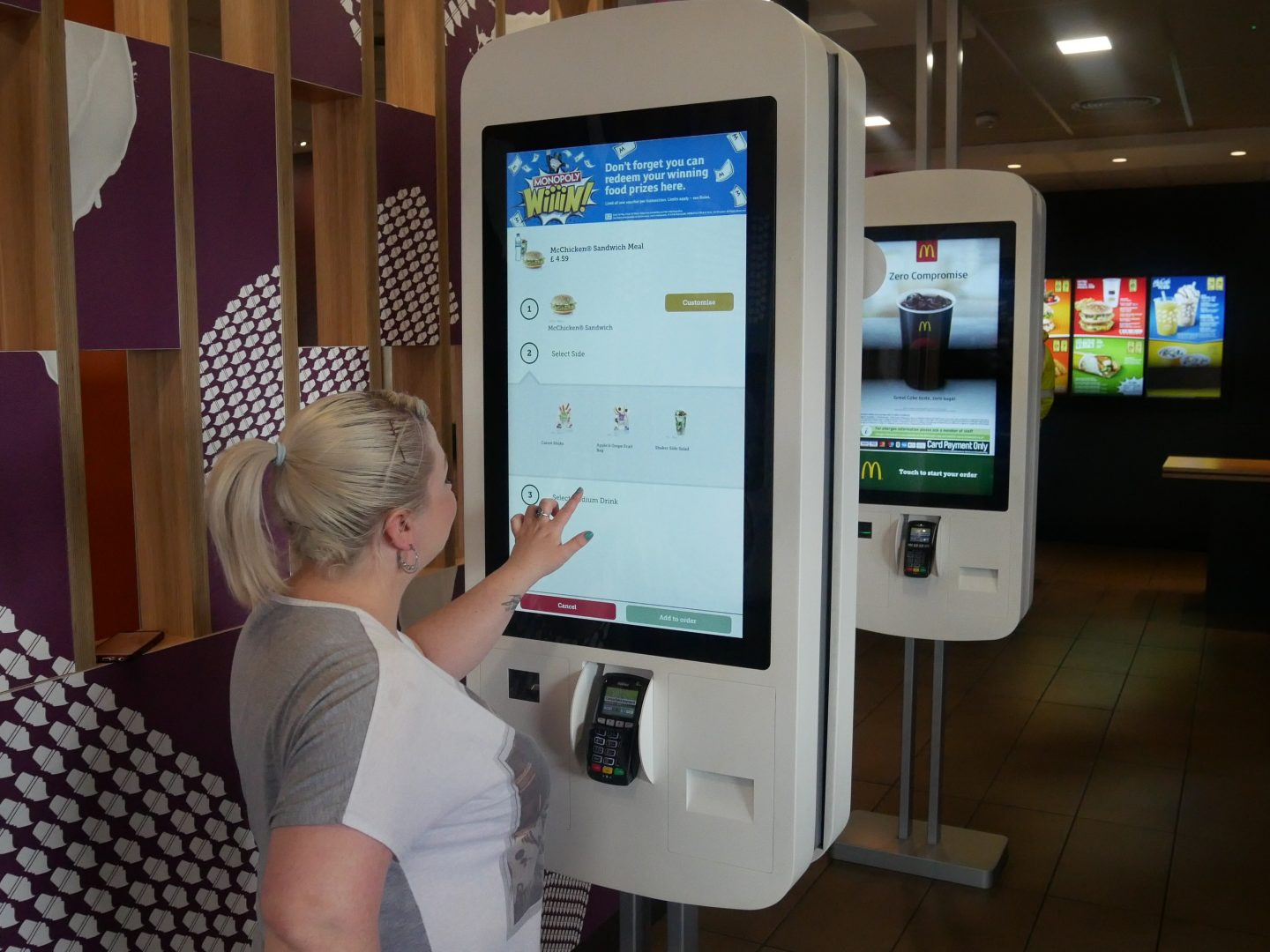 Maccas app prizes and awards