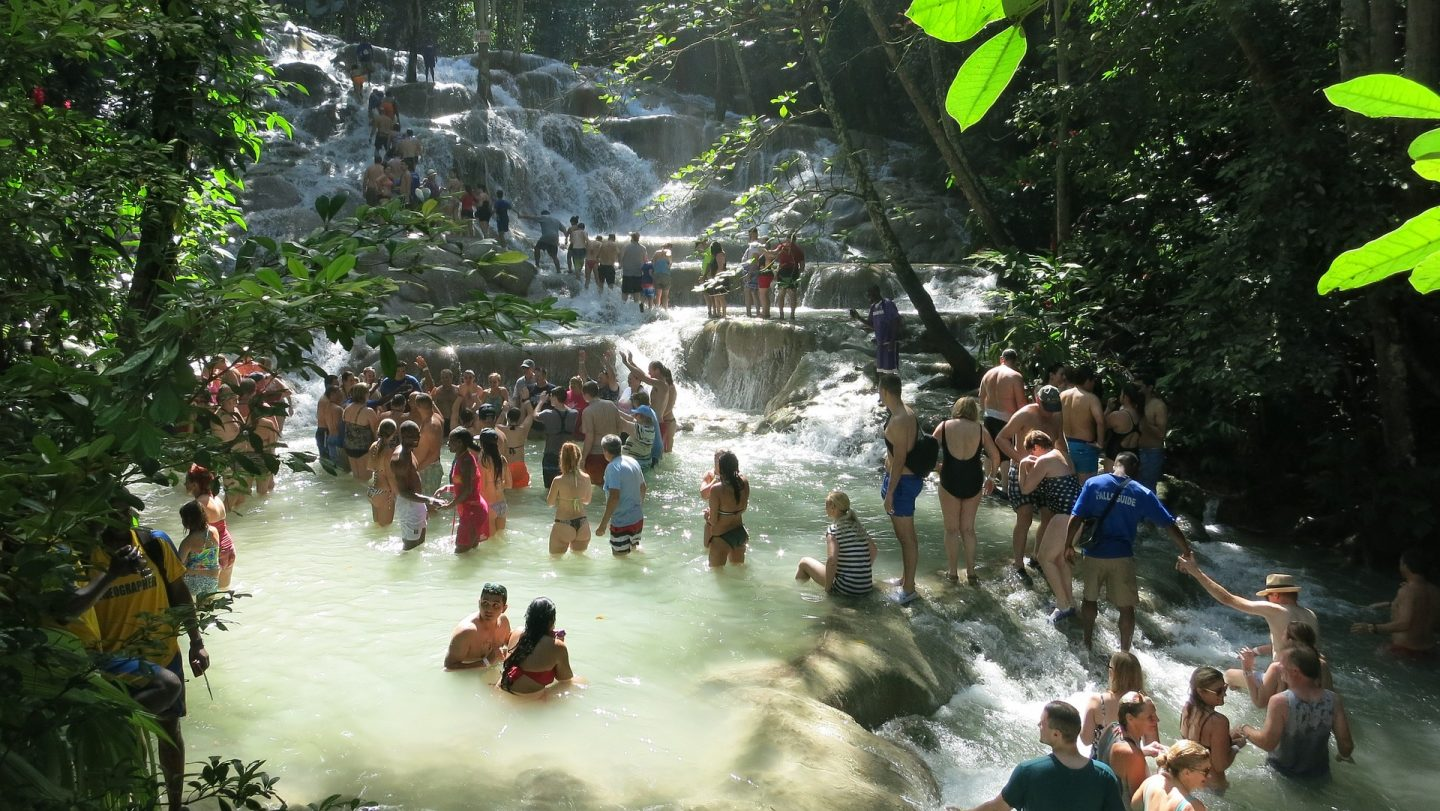 Dunn's River Falls, Jamaica - one of the best places to visit in Jamaica