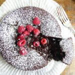 Swedish kladdkaka - photographed by Tracy Morgan for her kladdkaka recipe