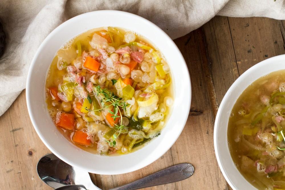 Yellow Split Pea Soup Recipe | Eat Like a Local | Norway